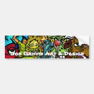 wetman, jesterred, homeless-gld, skatenose, Jus... Bumper Sticker