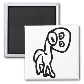 Wetodd Dog Rage Face Meme 2 Inch Square Magnet