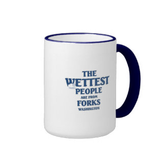 Wettest people are from forks ringer mug