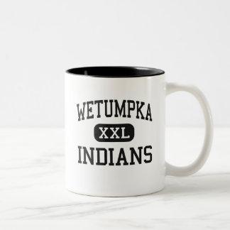 Wetumpka - Indians - High - Wetumpka Alabama Two-Tone Coffee Mug