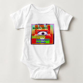 We've been conditioned througtout our lives baby bodysuit