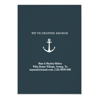 we've dropped anchor card