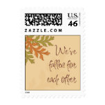 We've Fallen for Each Other Postage Stamp