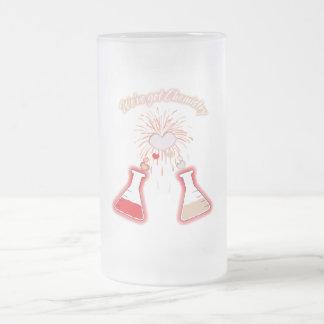 We've Got Chemistry Frosted Glass Beer Mug