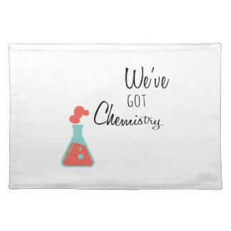 Weve Got Chemistry Cloth Place Mat