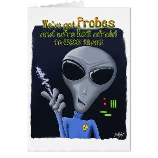 We've got Probes Card