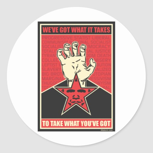 We've Got What It Takes Classic Round Sticker