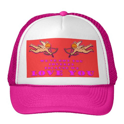 We've got you covered trucker hat