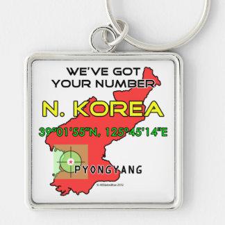 We've Got Your Number North Korea Keychain