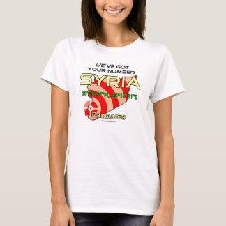 We've Got Your Number Syria T-Shirt