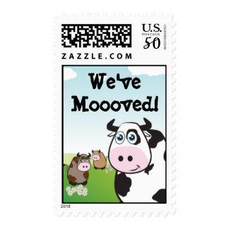 We've Mooved! Postage