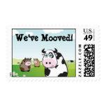 We've Mooved Stamp