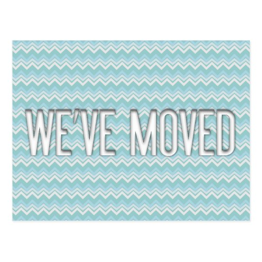 """We've Moved"" Address Change Notifications Postcard"