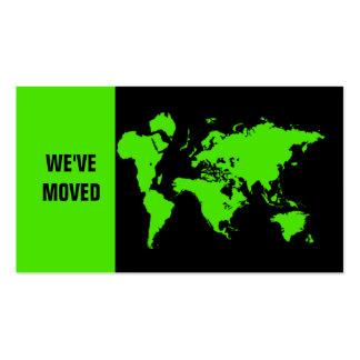 We've moved business card