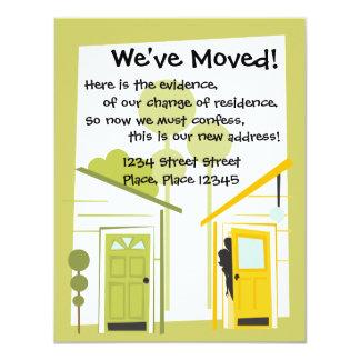 We've moved! card
