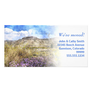 We've moved! Change of Address Custom Photo Cards
