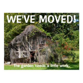We've Moved Change Of Address Postcard