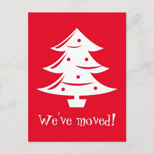 we ve moved christmas postcards for new address zazzle com