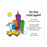 We've Moved Cityscape - Postcard