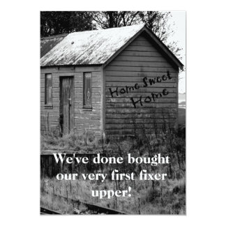 We've Moved Country Shack Housewarming 5x7 Paper Invitation Card