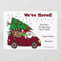 We've Moved Holiday Cards - 5x7 cards