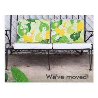 We've Moved! Modern Colorful New Address Postcard
