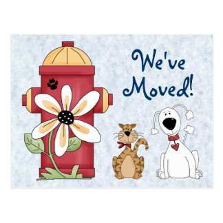 We've Moved Moving Announcement Postcard