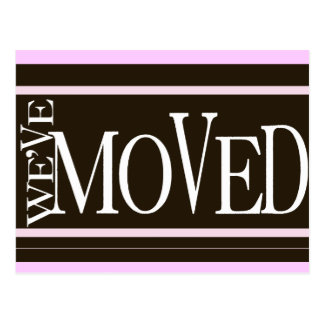 We've Moved! New home announcement Postcards