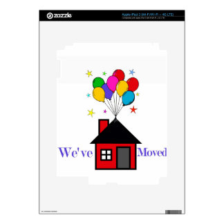 We've Moved New Home iPad 3 Decal