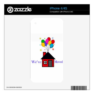 We've Moved New Home Skin For iPhone 4
