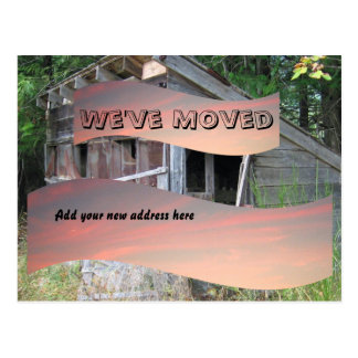 We've Moved Notice Postcard