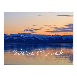 We've Moved on Beautiful Coast! Address Change Postcard