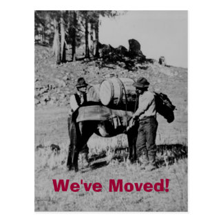 We've Moved! Post Card