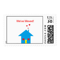 """We've Moved"" Postage"