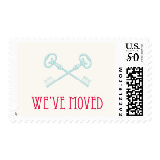 We've Moved Postage