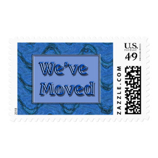 we've moved stamps