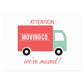 Weve Moved! Postcard