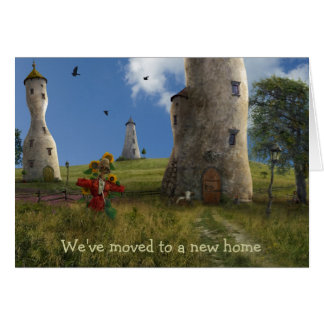 We've moved to a new home - Card