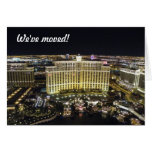 We've moved - to Las Vegas Card