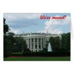 We've moved - to Washington DC Greeting Card