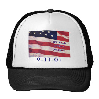 WEWILL NEVER FORGET PC1008 PDF PRINT130004 TRUCKER HAT