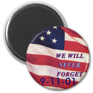 WEWILL NEVER FORGET PC1008 PDF PRINT130004 REFRIGERATOR MAGNETS