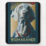 Wewimaraner Nation : 1943 Weimaraner Mouse Pads