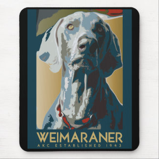 Wewimaraner Nation : 1943 Weimaraner Mouse Pad