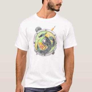 Wex50 logotipo 3 (camisetas ligero) playera