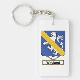 Weyland Family Crest Keychain