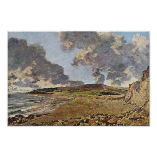 Weymouth Bay By Constable John (Best Quality) Poster