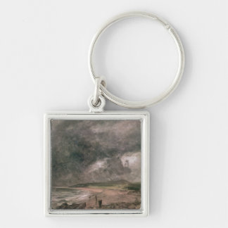 Weymouth Bay with Approaching Storm Keychain