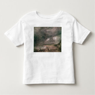 Weymouth Bay with Approaching Storm Toddler T-shirt
