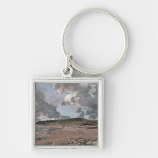 Weymouth Bay with Jordan Hill, c.1816 (oil on canv Keychain